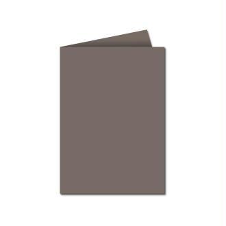 Papier Pollen carte double 110 x 155 Gris acier x 25