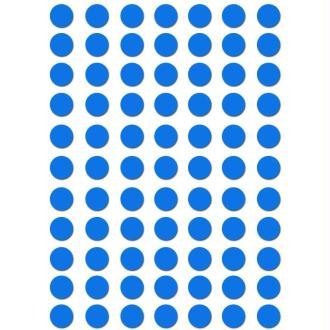 Gommettes rondes 8 mm Bleu ciel x 462