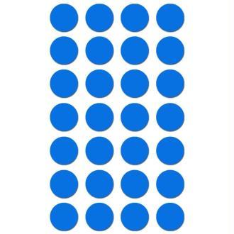 Gommettes rondes 15 mm Bleu ciel x 168
