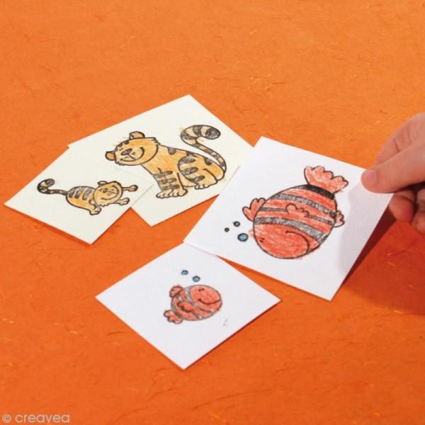 Kit 10 tampons enfants Stampo'minos Fées - Photo n°6