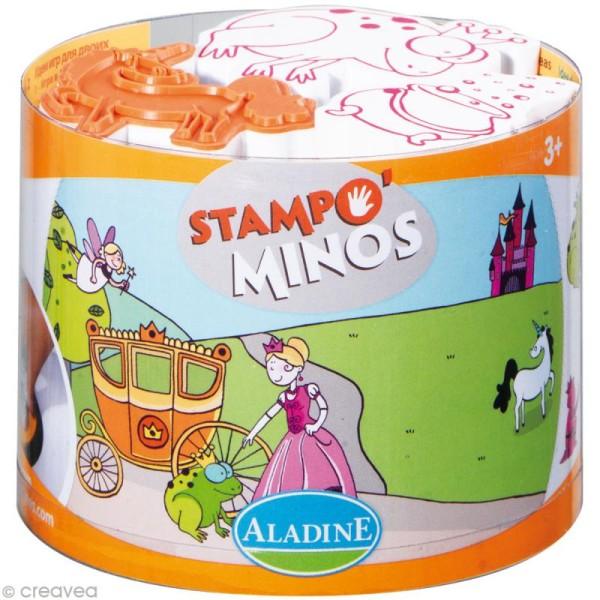 Kit 10 tampons enfants Stampo'minos Fées - Photo n°1