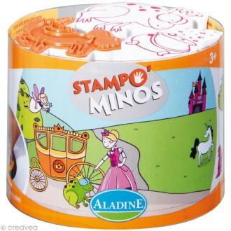 Kit 10 tampons enfants Stampo'minos Fées