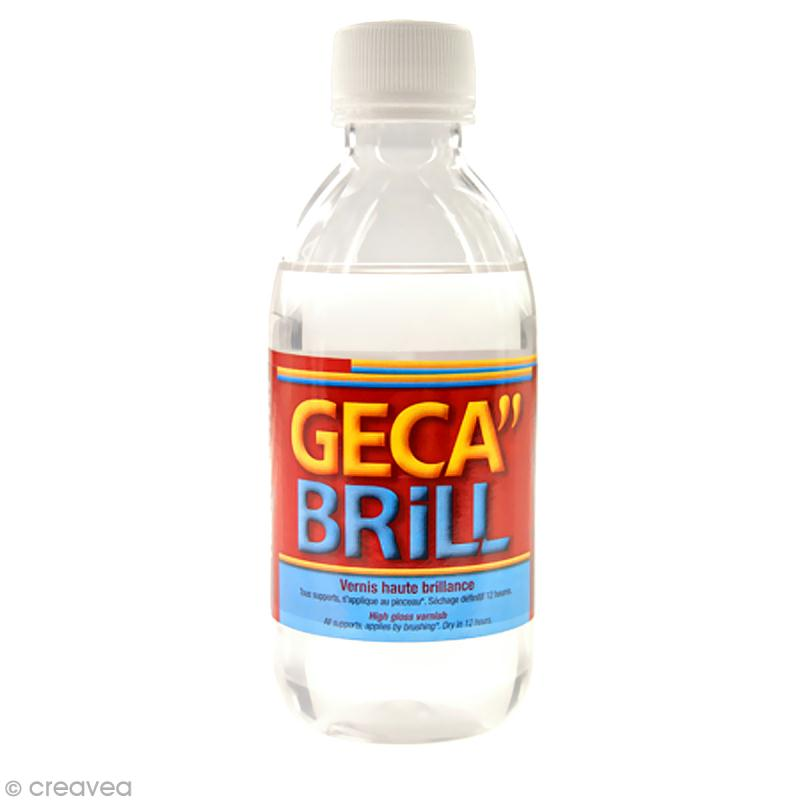 Vernis haute brillance Geca Brill 250ml - Photo n°1