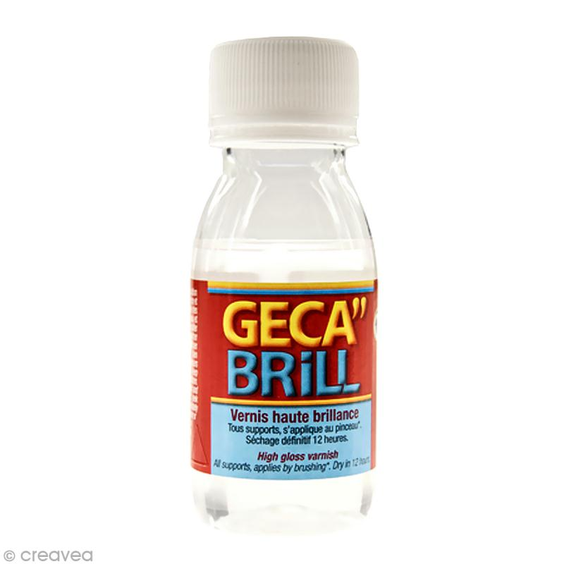 Vernis haute brillance Geca Brill 50ml - Photo n°1