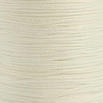 Fil de jade 0,8 mm Blanc - fil nylon tressé 0.8 millimètre ( sur mesure )