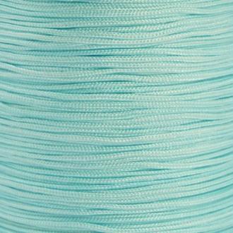 Fil de jade 0,8 mm Bleu clair - fil nylon tressé 0.8 millimètre ( sur mesure )