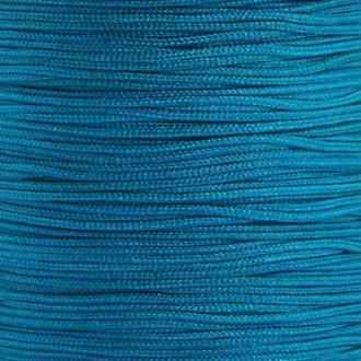 Fil de jade 0,8 mm Bleu - fil nylon tressé 0.8 millimètre ( sur mesure )