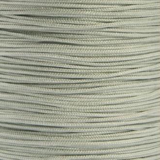 Fil de jade 0,8 mm Gris clair - fil nylon tressé 0.8 millimètre ( sur mesure )