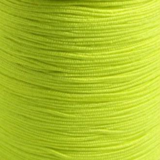 Fil de jade 0,8 mm Jaune fluo - fil nylon tressé 0.8 millimètre ( sur mesure )