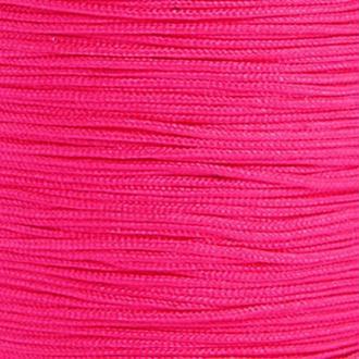 Fil de jade 0,8 mm Rose foncé - fil nylon tressé 0.8 millimètre ( sur mesure )