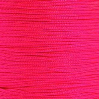 Fil de jade 0,8 mm Rose vif - fil nylon tressé 0.8 millimètre ( sur mesure )