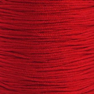 Fil de jade 0,8 mm Rouge foncé - fil nylon tressé 0.8 millimètre ( sur mesure )