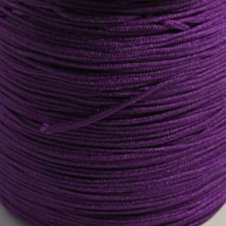 Fil de jade 0,8 mm Violet - fil nylon tressé 0.8 millimètre ( sur mesure )
