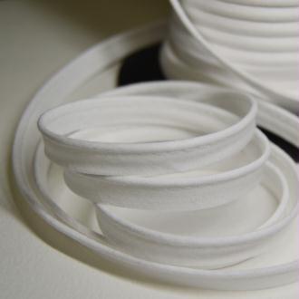 Passepoil coton blanc, de belle qualité - vendu au mètre - monpatroncouture