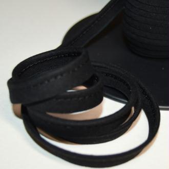 Passepoil coton noir, de belle qualité - vendu au mètre - monpatroncouture
