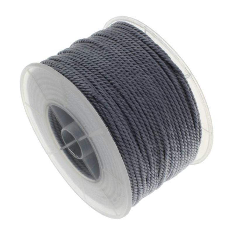 Cordon polyester hyper r sistant 1 millim tre gris sur for Acheter miroir sur mesure