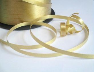 10 Mètres De Bolduc Doré Pour Emballage Cadeaux Et  Décoration 5Mm