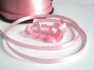 10 Mètres De Bolduc Rose  Pour Emballage Cadeaux Et  Décoration 5Mm