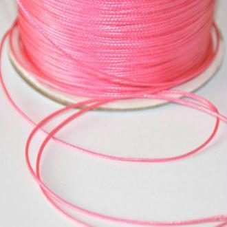10M Fil Cordon Polyester Rose Ciré 0.5Mm (2)