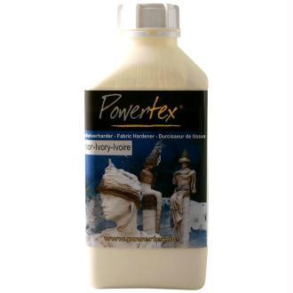 Powertex solidifiant tissu 1 kg Ivoire