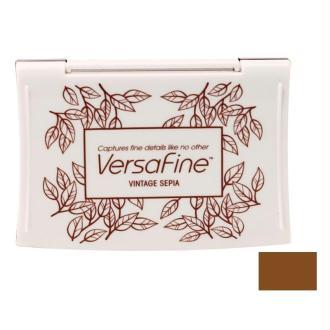 Encre VersaFine 9 x 6 cm Sepia Vintage