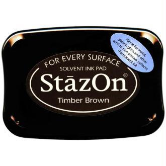 Encre permanente StazOn Marron