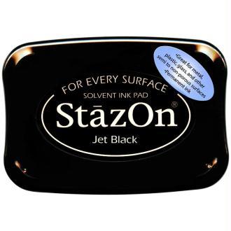Encre permanente StazOn Noir - 9,8 x 6,5 cm