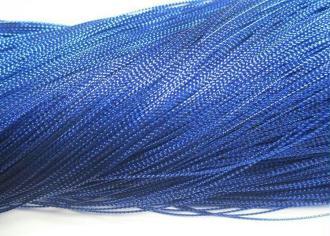 10M Fil Métallique Bleu Tressé 0.8Mm