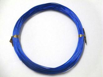 10M Fil Alu Bleu Foncé 0.8Mm En Bobine