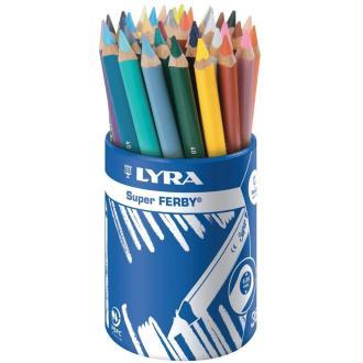Crayon de couleur Super FERBY x 36 - Coffret école