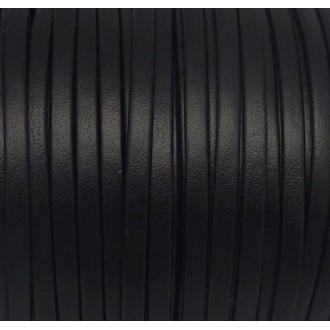 1m Lanière Simili Cuir 3mm De Couleur Noir Très Belle Qualité
