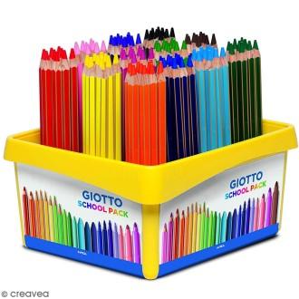 Crayon de couleur GIOTTO Mega x 120 - Coffret école