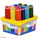 Crayon de couleur GIOTTO Mega x 120 - Coffret école - Photo n°1