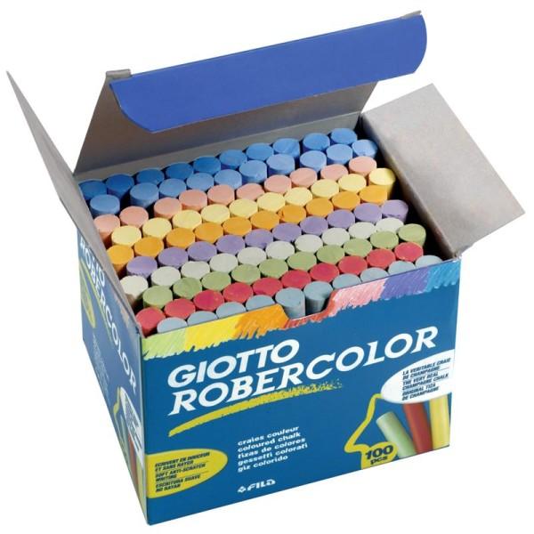 Craies couleurs assorties x 100 - Photo n°1