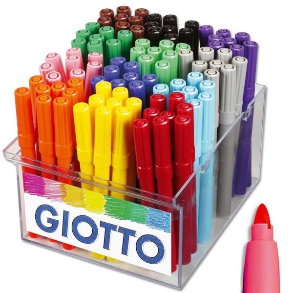 Feutre de coloriage turbo maxi giotto x 96 coffret cole feutre dessin creavea - Maxi coloriage ...
