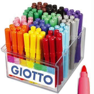 Feutre de coloriage Turbo Maxi GIOTTO x 96 - Coffret école