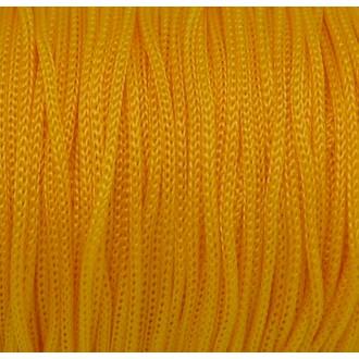 5m Fil Polyester, Nylon Tressé Souple Jaune Bouton D'or 1mm Shamballa