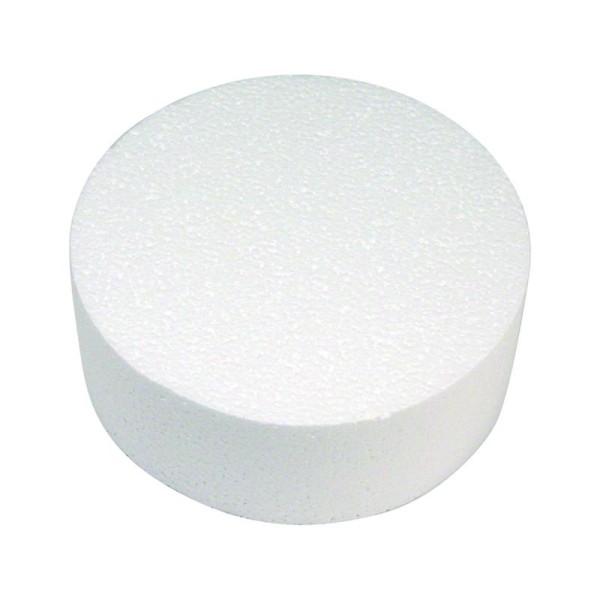 Disque en polystyrène Diamètre 15 cm - Photo n°1