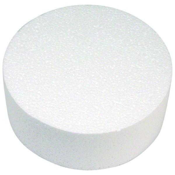 Disque en polystyrène Diamètre 30 cm - Photo n°1