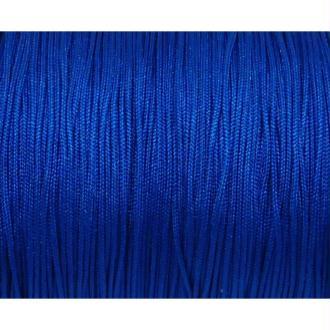 10m Fil De Jade 0,8mm De Couleur Bleu Vif électrique - Idéal Noeud Coulissant - Wrap - Shamballa