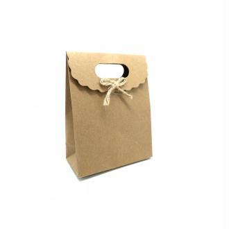 pochette cadeaux coeur panth re soufflet en papier pais sac en kraft creavea. Black Bedroom Furniture Sets. Home Design Ideas