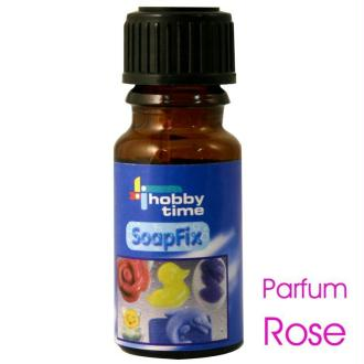 Huile parfumée rose pour bougies et savon 10 ml