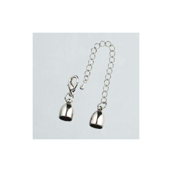 Embout pour collier avec chaînette de ø 8 mm - Photo n°1