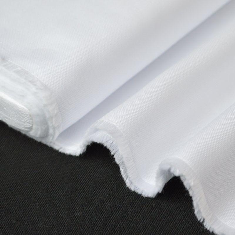 tissu coton haut de gamme pour chemise oxford blanc tissu au m tre creavea. Black Bedroom Furniture Sets. Home Design Ideas