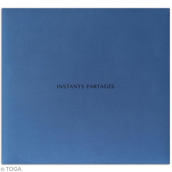 Album scrapbooking en tissu Toga - Bleu - 30,5 x 30,5 cm - Photo n°2