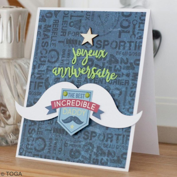Chipboard 100 % Masculin - 20 pcs - Photo n°2