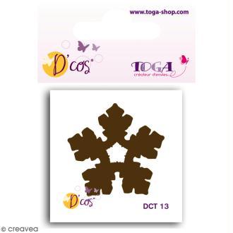 Die D'COS Flocon 2 - Plaque 4,5 x 4,5 cm