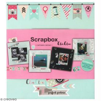 Kit scrapbooking Scrapbox - Clic Clac