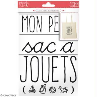 Mots thermocollants A5 - Mon petit sac