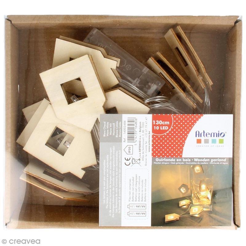 Guirlande lumineuse led maisons kit lectrique lampe creavea - Guirlande lumineuse maison ...